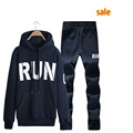 Cotton Polyester Running jogging suits hoodies sweatshirt tracksuit sport jogging suits for men M 4XL Running