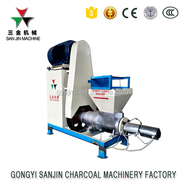Машина для брикетирования рисовой шелухи и опилок на биомассе