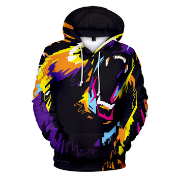 Custom 3D Print Hoodies Unisex Sweatshirts With Hat Hoody Cartoon Digital Print Fashion Brand Hoodies