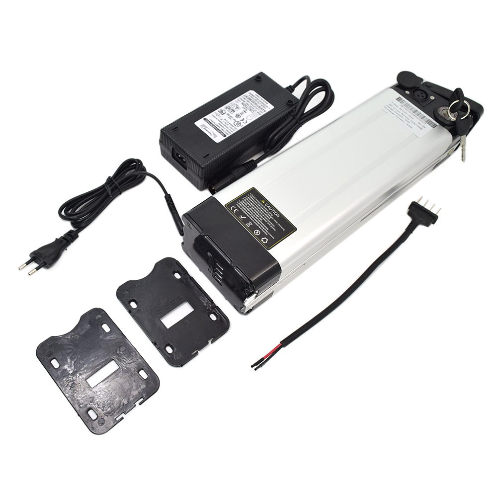 High quality 36V 15Ah Silver Fish type rechargeable battery electric bike battery for electric bicycle