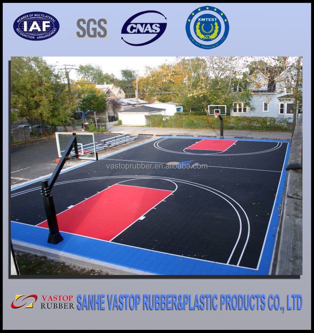 Outdoor Synthetic Basketball Court Rubber Flooring Buy