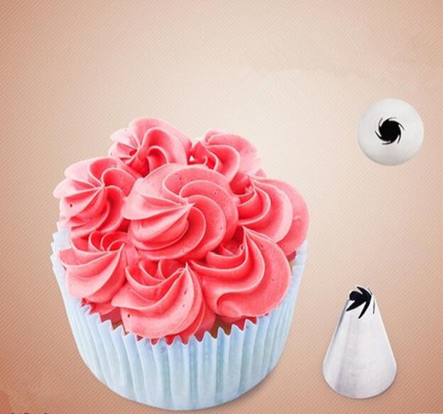 High quality Nozzles Cake Decoration Tips Home Baking DIY Tool flower Nozzle Tip