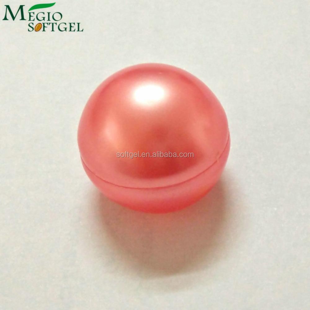 Cherry red 2cm vanilla fragrance cheap bath oil beads China