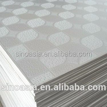 Qatar Gypsum Board False Ceiling Price Gypsum Ceiling Board Pvc Laminated Gypsum Ceiling Tiles 595 595 6mm View Pvc Gypsum Board Sino Asia Product Details From Beijing Sino Asia Trading Co Ltd On Alibaba Com