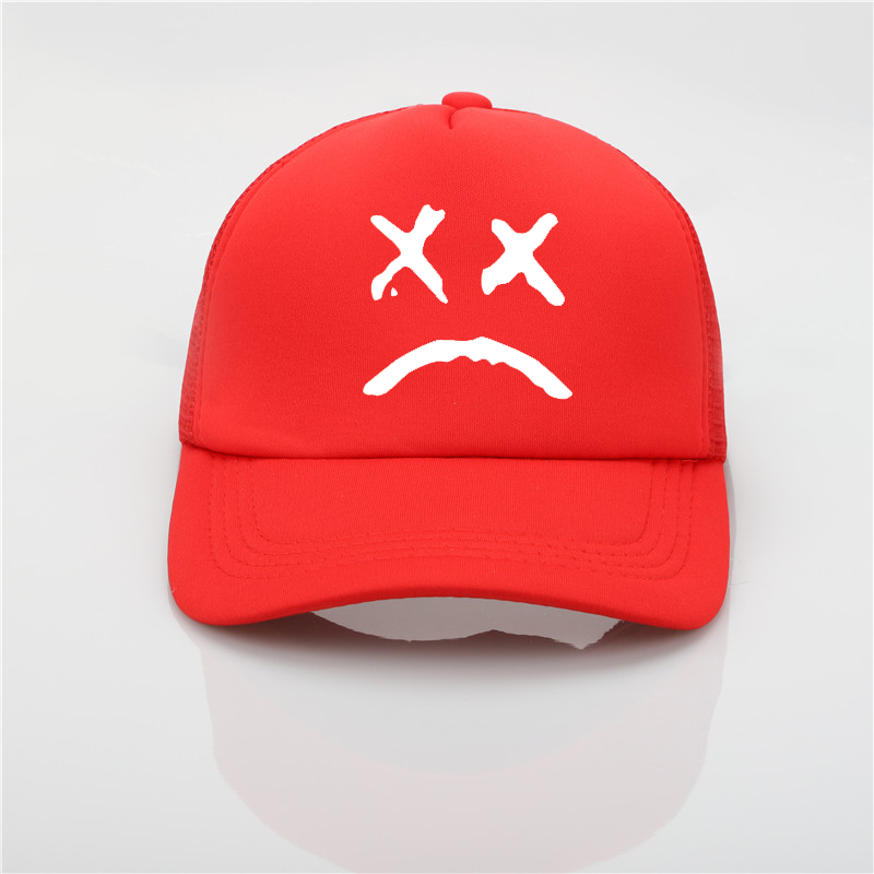 6cc4cb5b267 Lil Peep Mesh Cap Love Lil.Peep Printing Net Cap Baseball Cap Men ...