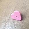 heart shape pink