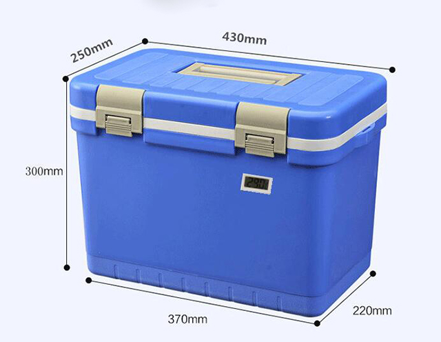 vaccine capacity 4L Vaccine carrier cold chain box with temperature display
