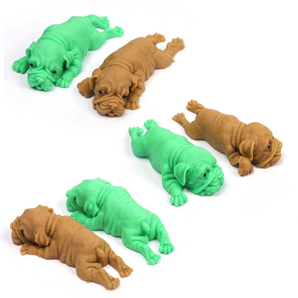 Squishies Mochi Pug Puppy Squeeze Healing Fun Kawaii Stress Reliever Toys Gifts