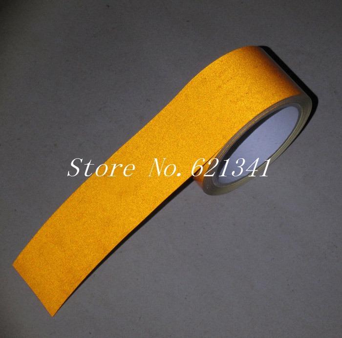 ( 10 m / рулон ) безопасный отражающий опасности предупреждение лента оранжевый цвет 5 см * 10 m