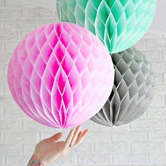 DIY Project: Tissue Paper Pom-Poms