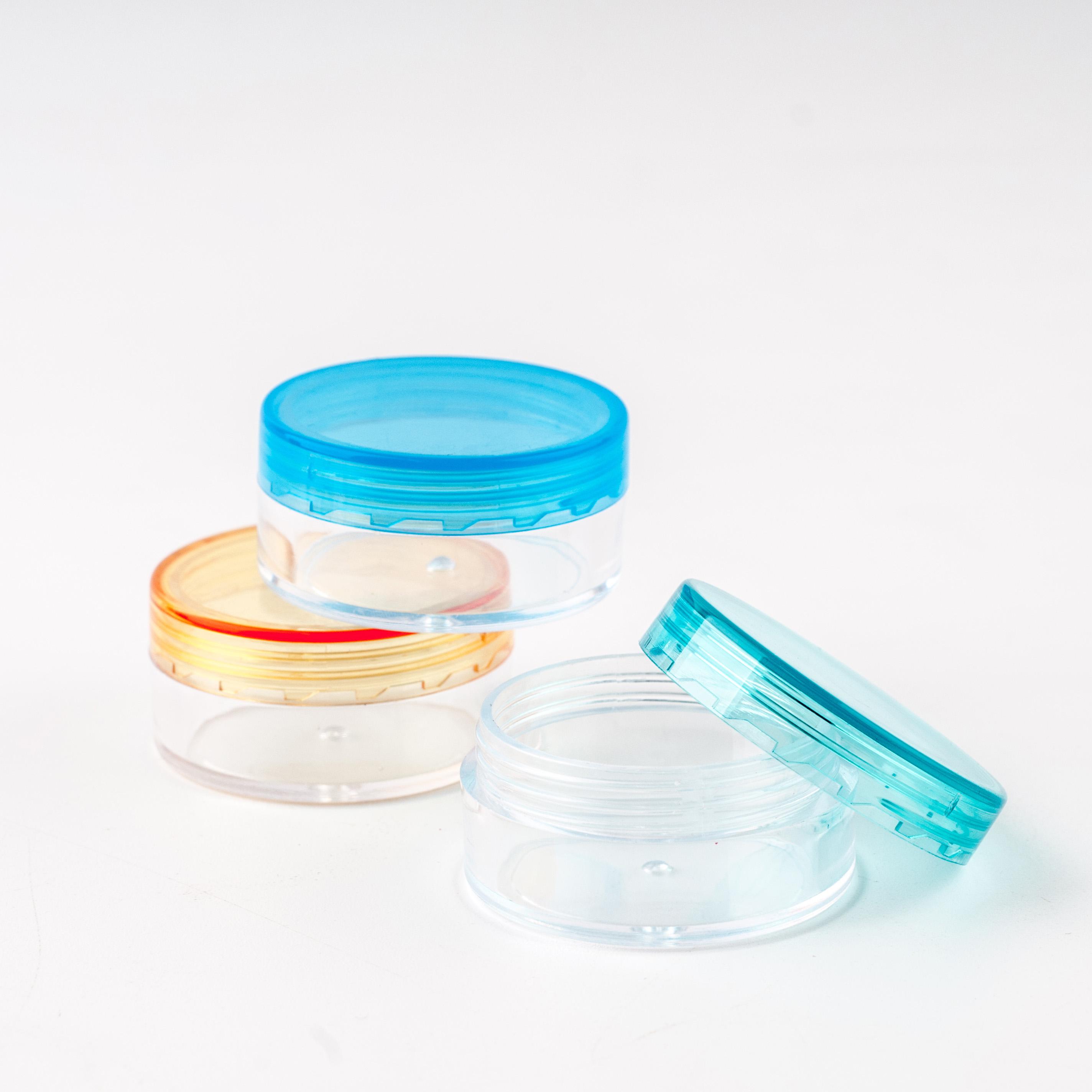 3 г 5 г 10 г 20 г 30 г банка, косметический образец пустой контейнер пластиковая круглая крышка маленькая бутылка