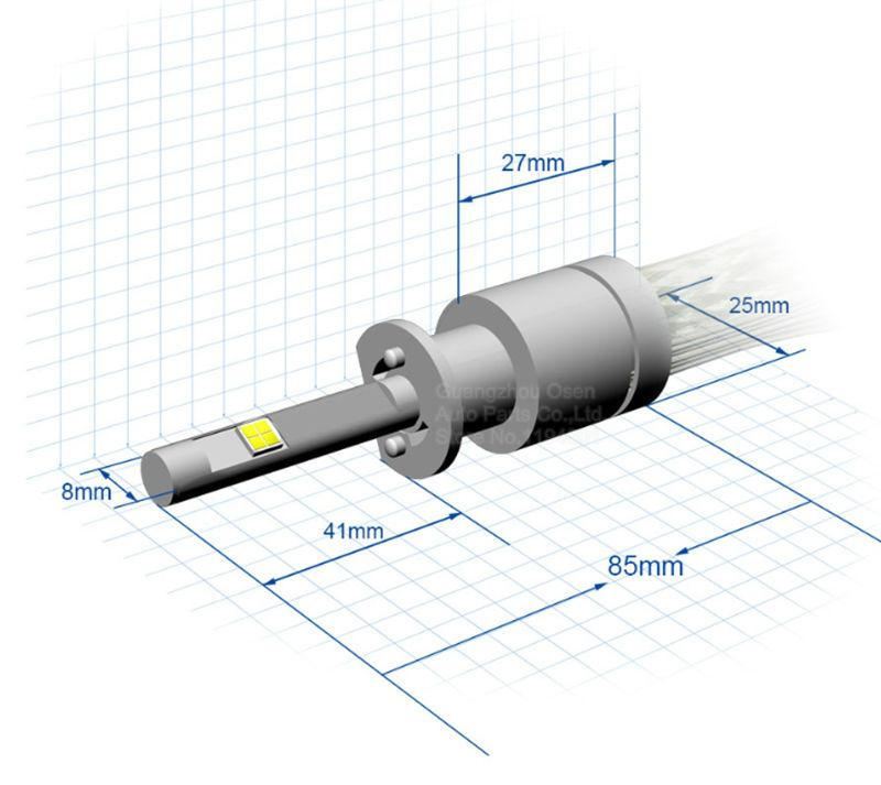 Rocket 80w Cree Led Headlight