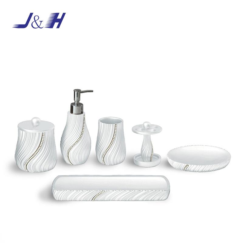 Unique Designed Resin Bathroom Accessories Set With Rhinestone Buy Resin Bathroom Accessories With Rhinestone Bathroom Accessories With Rhinestone Bathroom Set With Rhinestone Product On Alibaba Com