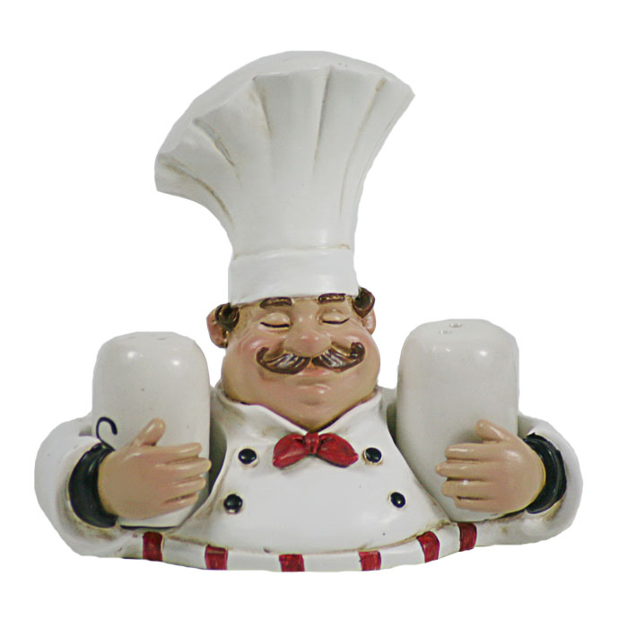 Fat Italian Country Chef With Salt And Pepper Shakers Buy Product On Alibaba Com