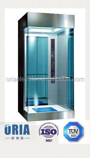 Лидер продаж, бесшумный лифт для жилых домов, стеклянный лифт для виллы