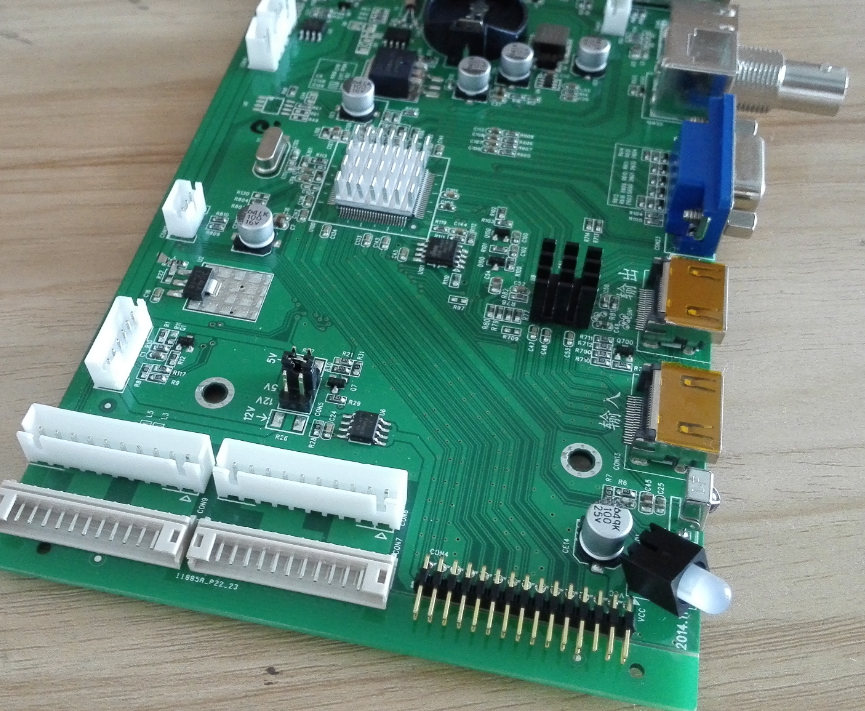 TFT lcd panel loop display driver pcb board DVI VGA lcd controller board