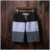 sport wear Loose fit running short pants man Spliced beach wear for men printing beach pants Casual male