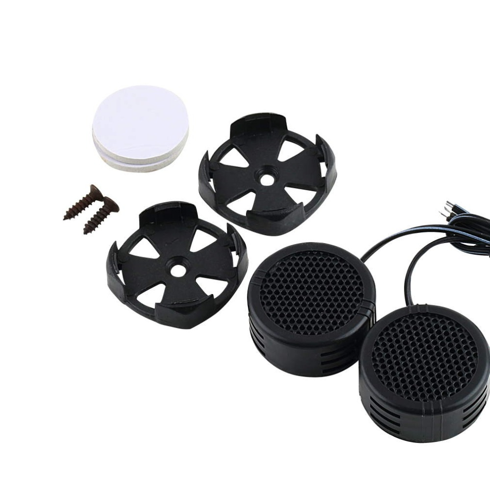 2015 Hot  2 x 500 Watts Super Power Loud Dome Tweeter Speakers for Car 500W
