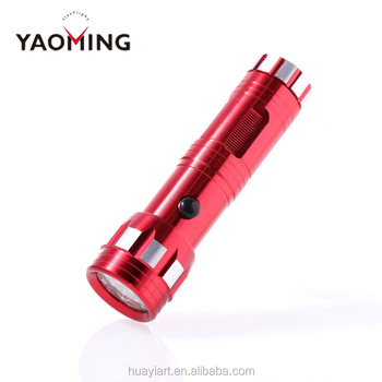 CE ROHS Best Promotional Cheap red Mini Torch Pocket Brightest Portable Aluminum flashlight