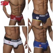 New Design brand underwear men briefs fashion cotton Penis sexy underpants for male Gay/male/boys Y6