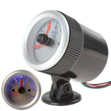 2″ 52mm 0~8000RPM Blue Light Tachometer Tach Gauge with Holder Cup for Auto Car