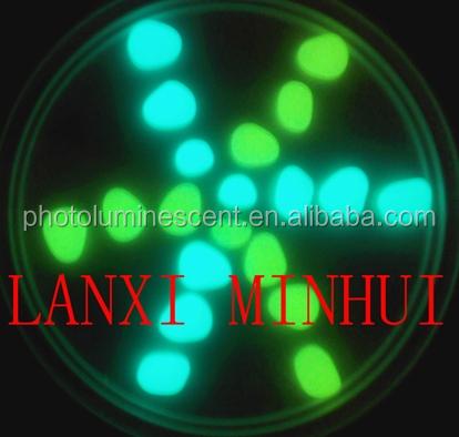 Фотолюминесцентная галька/светящаяся галька