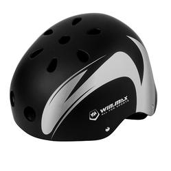 WINMAX bike Racing black ABS+EPS Skateboard & Bicycle safety Helmet