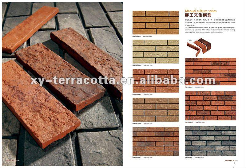 Exterior Wall Cladding Tiles Clay Tile