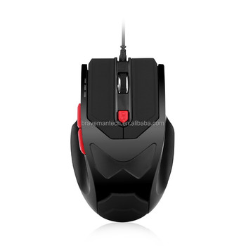 Pro Gamers All Kinds of USB 3 DPI Adjustable Gaming Mouse in Computer Accessories