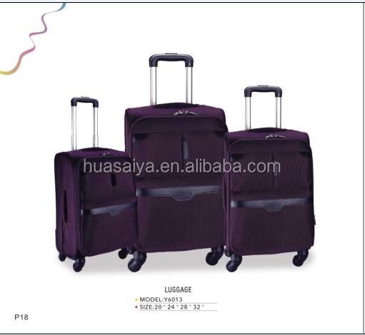 Индивидуальные новый продукт прочно материал в переменного тока, 50 - 70L 4 колеса тележка для багажа и компас женский чемодан на колёсиках