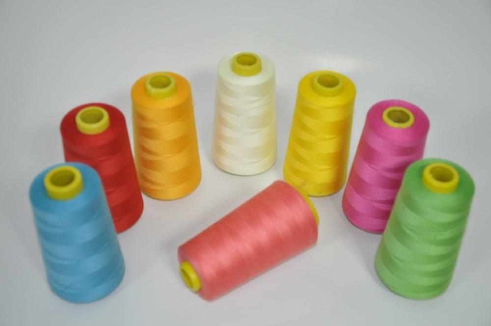 Высокое качество 202 302 402 502 40s/2 полиэстровые швейные нити/100% Полиэстеровая териленовая пряжа hign прочности на разрыв