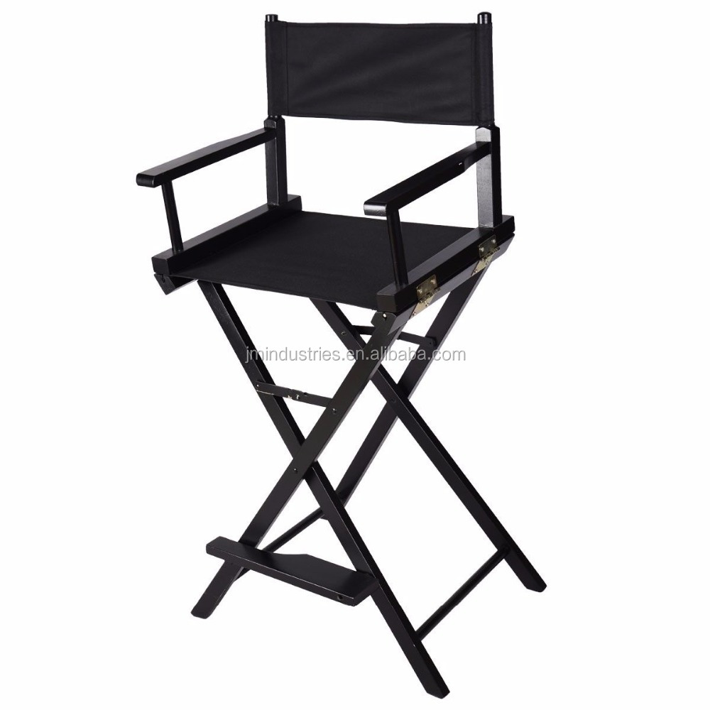 Wood Foldable Professional Makeup Artist Movie Tall Director Chair Buy Tall Folding Director Chair Makeup Artist Movie Chair Wood Foldable Chair Product On Alibaba Com