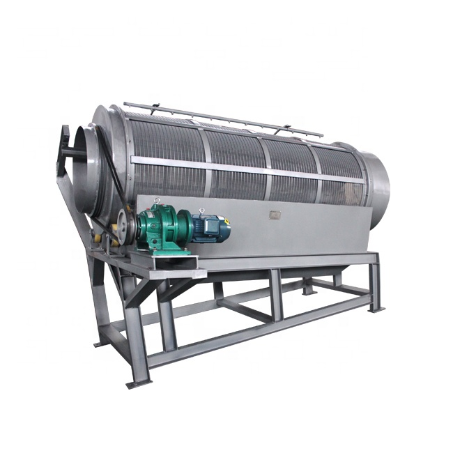 China gold supply Greatly welcomed Large capacity portable Sand Gravel rotating drum sieve