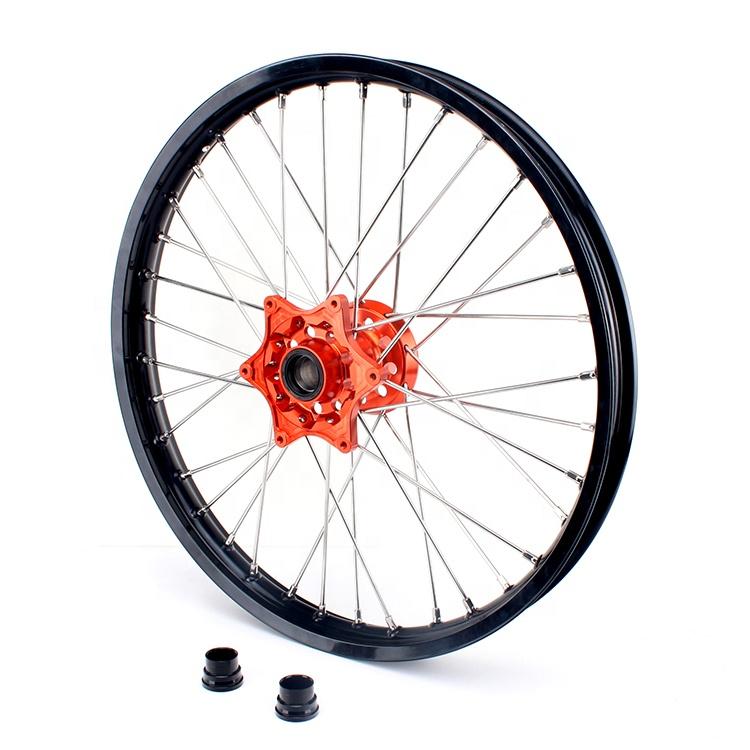 Custom aftermarket Front rear dirt bike wheel sets for KTM