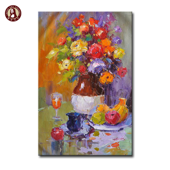 What is a palette knife expressionist paintings used for decor