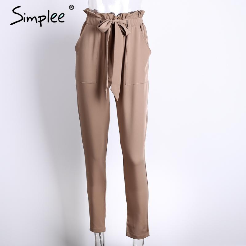 simplee apparel ol chiffon high waist harem pants women. Black Bedroom Furniture Sets. Home Design Ideas
