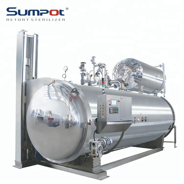 Canned Tuna Retort Machine Food Retort Sterilization Autoclave