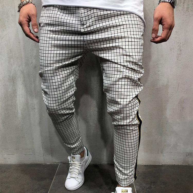 Pantalones De Tela Escocesa Para Hombre Pantalon Informal Alta Calidad Buy Pantalones A Cuadros Pantalones A Cuadros Para Hombres Pantalones Casuales De Ropa Para Hombres Product On Alibaba Com
