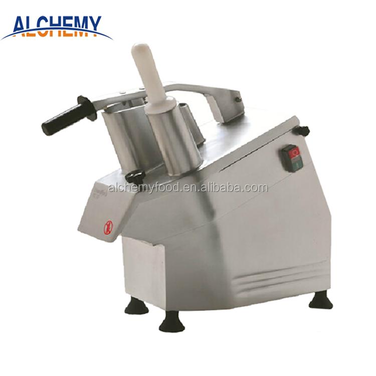 Многофункциональная машина для резки овощей и корней в ресторане