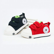 2015 new fall classic sports shoes toddler kids prewalker non slip ventilation star fashion canvas shoe