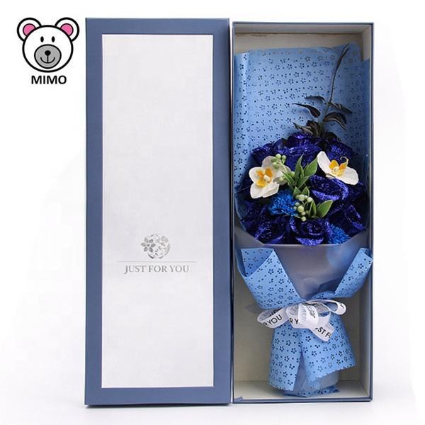 Buket Bunga Kartun Lucu Hadiah Hari Ibu Fashion Baru Ide Valentine Buatan Tangan Buket Bunga Mawar Biru Cantik Bunga Pernikahan Buy Buket Pernikahan Bunga Buket Bunga Kotak Kartun Buket Bunga Product