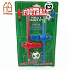 Custom England soccer team stationery set with blister card back to school,cheap gift for football club.