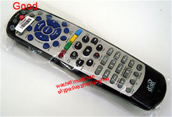 High Quality Black+Silvery PVC 53 Keys New 20.1 Dish Network Remote Control TV1 IR Replaces 20.0 Bell ExpressVU