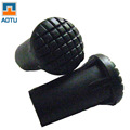 Wholesale Walking Stick Rubber Feet Set Accessories Protective Rubber Cane Tips For Hiking Sticks 5pcs lot