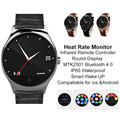 Infrared Remote Controller Smart Watch Pedometer Call SMS Reminder Bluetooth 4 0 Heart Rate Monitor Anti