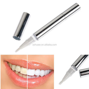 Best Sliver Twist Touch Up Tooth/ Teeth Whitening Pen with Carbamide Peroxide Gel/Non Peroxide Gel