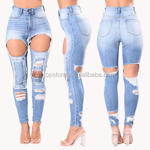 Amanzon Lavado Rasgado Azul Mujeres Vaqueros Slim Denim Pantalones Para Ninas Buy Vaqueros Rasgados Lavados Para Mujer Rasgados Amanzon Vaqueros De Mujer Vaqueros Ajustados De Mujer Azul Claro Product On Alibaba Com