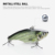 7.5cm 18g VIB Realistic Fishing Tackle Lures Vibration Fishing CrankBaits,Topwater Senuelo De Pesca Trout Fishing Lure