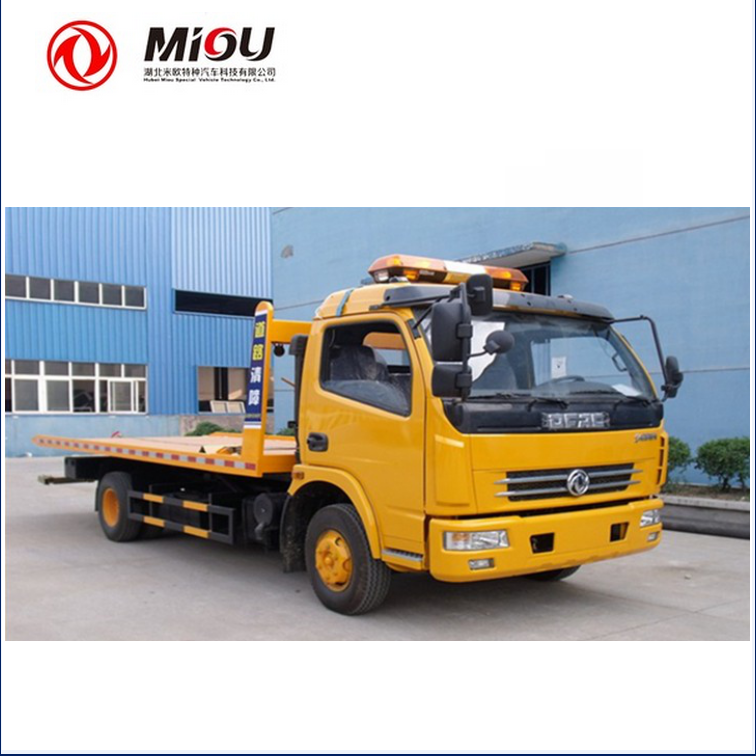 China tow truck supplier 4x2 breakdown lorry recovery vehicle for sale