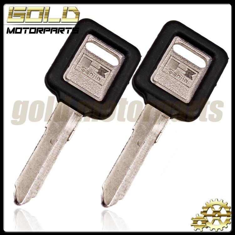 2 шт. новое мотоциклов замена ключ необрезанный для KAWASAKI kdx klx ZZR250 ZZR400 ZXR250 ZXR400 750 ZRX400 750